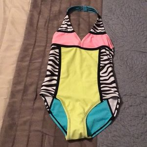 Girls one piece bathing suit by Joe Boxer 6/6X